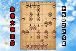 2017年全国象棋大棋圣战:王天一先负赵金成