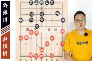 2014年全国象棋冠军挑战赛:郑惟桐先胜许银川