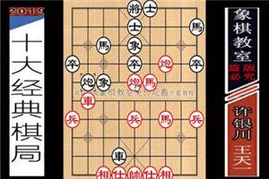 2014年全国象棋个人赛:王天一先胜许银川