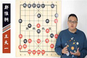 2020年全国象棋冠军邀请赛:王天一先胜郑惟桐