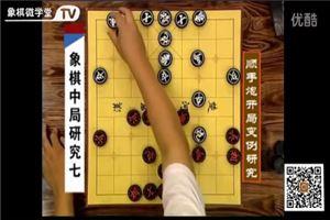 象棋中局研究(7)順手炮開局變例研究