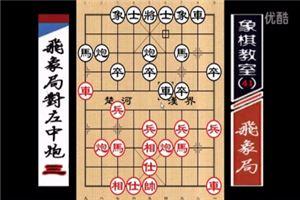 象棋开局系列教程飞象局对左中炮03