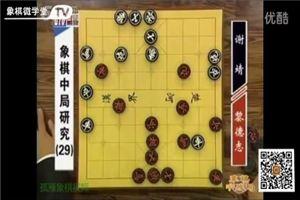 象棋中局研究(29)黎德志vs謝靖
