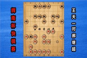 2018年中国辉南龙湾杯全国象棋电视快棋赛:王天一先和郝继超