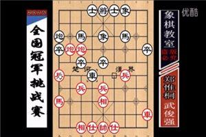 2016年飞神杯全国象棋冠军挑战赛:武俊强先负郑惟桐