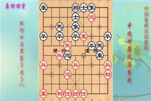 象棋开局高级教程《中炮过河车对屏风马》05