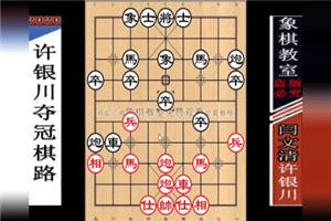 1998年全国象棋个人赛:许银川先胜闫文清