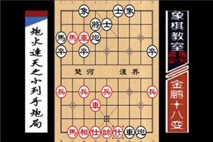 中国象棋古谱《金鹏十八变》炮火连天之小列手炮局