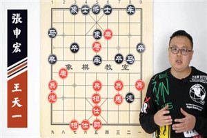 2020年全国象棋甲级联赛:王天一先负张申宏