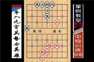 """""""职业棋手""""中局训练:卒入九宫、势必英雄"""