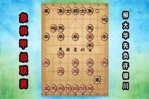 2017年全国象棋甲级联赛:柳大华先负许银川