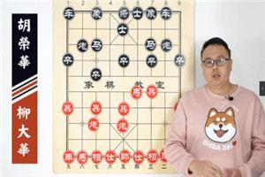 1989年象棋特级国际大师邀请赛:柳大华先负胡荣华
