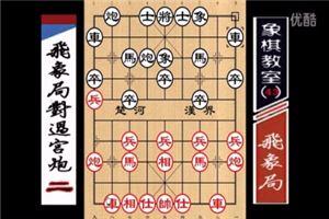 象棋开局系列教程飞象局对过宫炮02