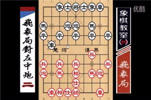 象棋开局系列教程飞象局对左中炮02