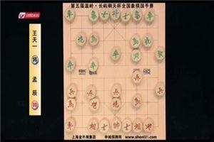 2016年温岭杯全国象棋国手赛:孟辰先胜王天一