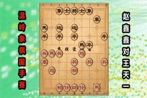 2018年温岭杯全国象棋国手赛:赵鑫鑫先和王天一