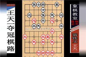 2012年全国象棋个人赛:王天一先胜聂铁文