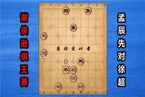 2017年谢侠逊棋王杯全国象棋公开赛:孟辰先胜徐超