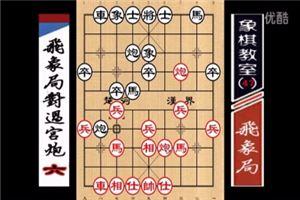 象棋开局系列教程飞象局对过宫炮06