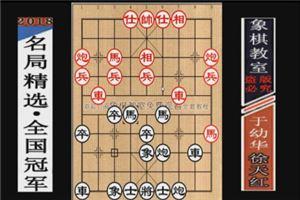 1989年全国象棋个人赛:于幼华先负徐天红