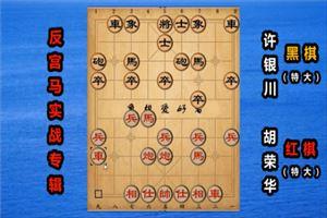 1992年全国象棋个人赛:胡荣华先胜许银川