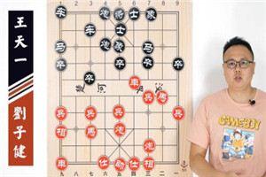 2014年全国象棋甲级联赛:刘子健先胜王天一