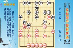 1975年盲棋车轮擂台表演赛:胡荣华先胜林宏敏