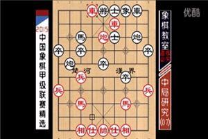 2015象棋甲级中局精选:横车立马、出奇制胜(07)