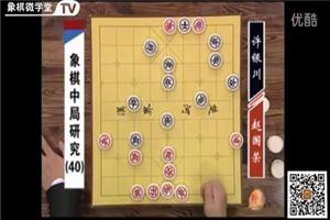 象棋中局研究:赵国荣vs许银川