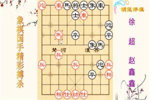 2007年全国象棋甲级联赛:赵鑫鑫先胜徐超