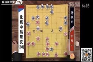 象棋中局研究(37)王天一vs許銀川