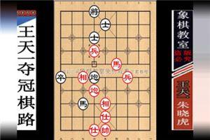 2012年全国象棋个人赛:朱晓虎先和王天一