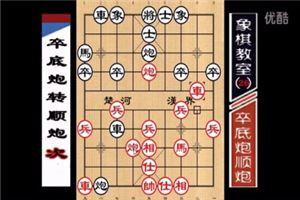 象棋开局系列教程仙人指路对卒底炮转顺炮02