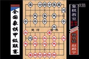 2016年全国象棋甲级联赛:赵殿宇先负孙勇征