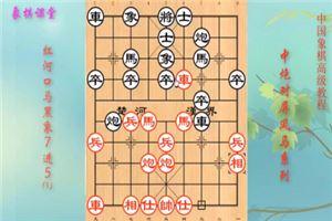 象棋开局高级教程《中炮过河车对屏风马》07