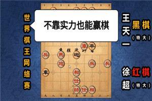 2020年世界象棋网络棋王赛:徐超先负王天一