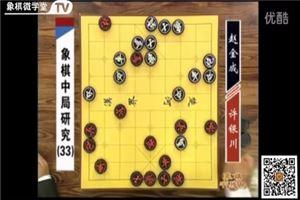 象棋中局研究:许银川vs赵金成