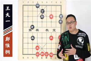 2020年全国象棋冠军邀请赛:郑惟桐先胜王天一