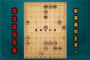 2017年碧桂园杯全国象棋冠军赛:赵鑫鑫先负王天一