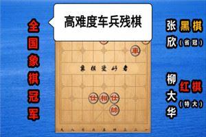 2019年全国智力运动会象棋赛:柳大华先胜张欣