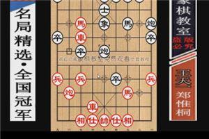 2014年全国象棋个人赛:郑惟桐先胜王天一