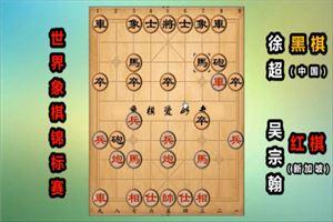 2019年世界象棋锦标赛:吴宗翰先负徐超