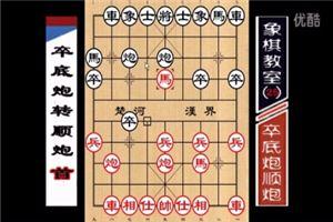 象棋开局系列教程仙人指路对卒底炮转顺炮01