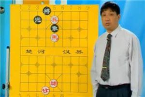象棋残局讲解:马高兵必胜炮单象