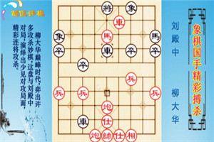2001年象棋电视快棋赛:柳大华先胜刘殿中