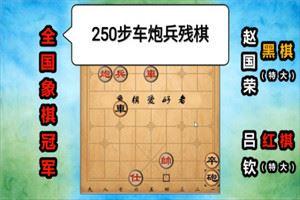 1988年象棋特级大师赛:吕钦先负赵国荣