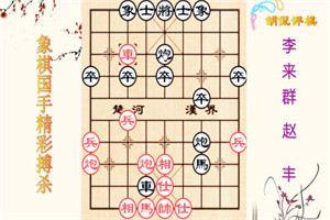 1984年全国象棋团体赛:赵丰先负李来群