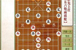 象棋开局系列教程仙人指路对卒底炮红中炮黑右象14