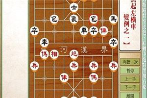 象棋开局系列教程仙人指路对卒底炮红中炮黑右象15