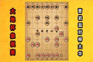 2019年大地杯象棋公开赛:曹岩磊先胜柳大华